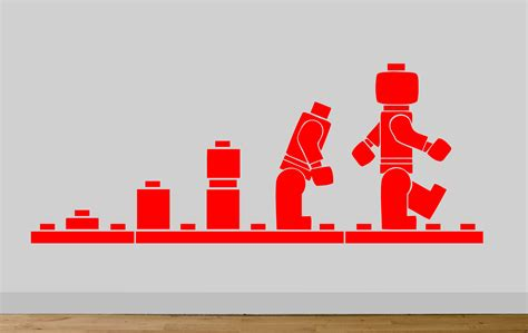 Lego Bedroom Wall Decals by Lego Evolution Wall Sticker Decal Bedroom Wall Lego