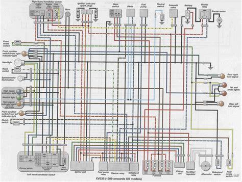 yamaha virago 535 wiring diagram electrical website