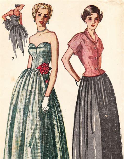 Die 50er Mode by Vintage Kleider Aus Den Verschiedenen Dekaden Des 20 Jh