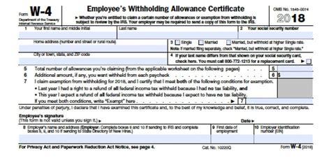 michigan w 4 2018 irs form pdf acquit 2019
