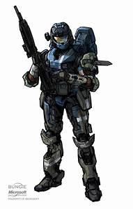 ArtStation - Halo: REACH Carter and helmet, Isaac ...