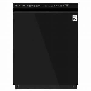 Lg Ldf5545bb Front Control Dishwasher With Quadwash