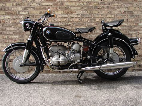 Bmw Motorcycle R69s 1965