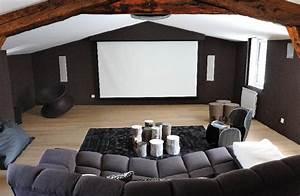 Projecteur Home Cinema : un triplex tout confort installations audiovisuelles et domotiques ~ Preciouscoupons.com Idées de Décoration
