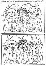 Cabbage Patch Coloring Picasaweb sketch template