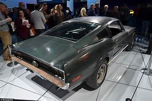 Original Ford Mustang Bullitt driven by Steve McQueen to be sold at auction | This is Money