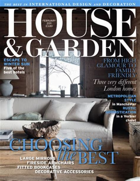 house and garden unique magazines
