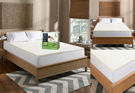 Kohls Bed Toppers by 38 99 Reg 200 Serta 1 5 Inch Memory Foam Mattress