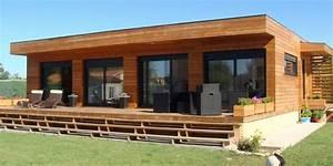 Chalet Bois Habitable Clef En Main : bungalow bois occasion traiteur legrand ~ Melissatoandfro.com Idées de Décoration