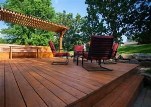 couvrir une terrasse en bois conseils astuces et deco With couvrir une terrasse en bois