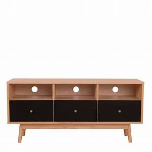 meuble tv scandinave skoll by drawer With meuble scandinave
