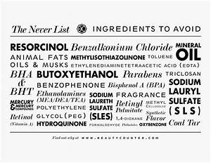 my luxefinds beautycounter face collection skin care With cosmetics ingredients list