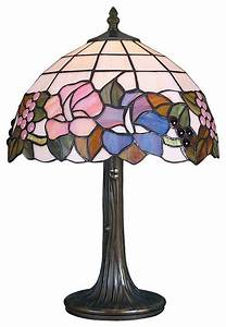 Parrot uncle large size tiffany style flower table lamp for Large flower floor lamp