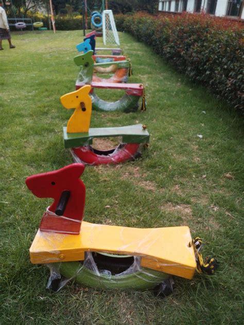 parque infantil con llantas parques infantiles playground madera llantas 200