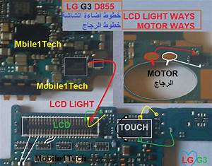Lg G3 D855 Lcd Display Light Ic Solution Jumper Problem