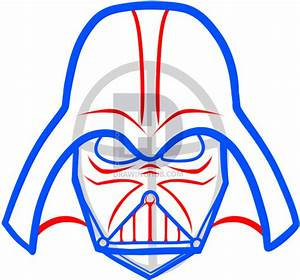 How To Draw Darth Vader Easy Step By Step Star Wars