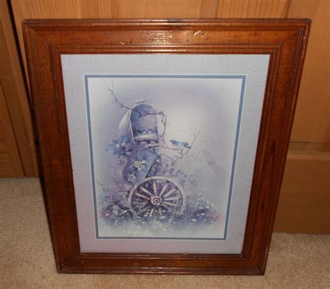 Home Interior Ebay by Vintage Home Interior Wagon Wheel And Mailbox Framed