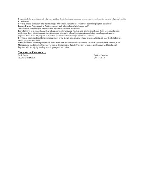 relevant experience in linear executive format for a resume