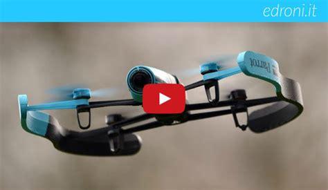 drone parrot bebop video del primo volo edroni