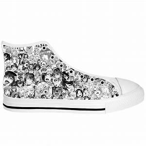 Ahegao Hentai Face Shoes