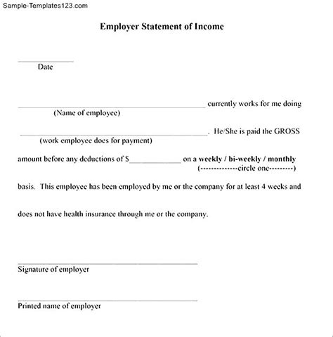 proof of income letter sle proof of income letter sle self employment letter 28221