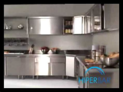 cocinas modulares en acero inoxidable youtube