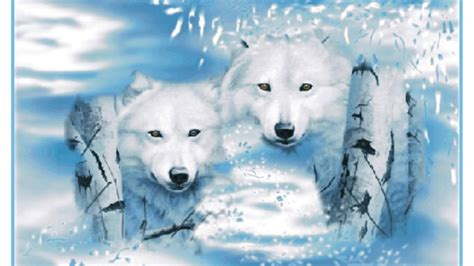 christmas wolf wallpaper gallery