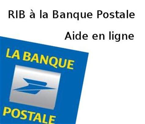 si e de la banque postale comment ajouter un rib pour un virement à la banque