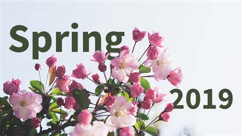 spring deadlines