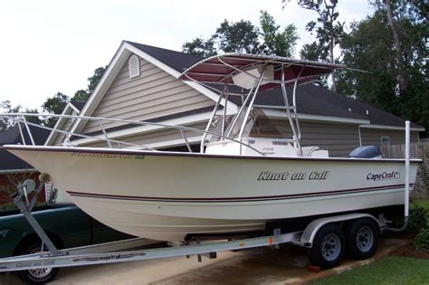 Cape Craft Boats by 2003 22 Cape Craft The Hull Boating And Fishing