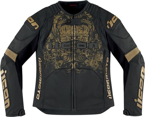 Motorcycle Jackets : Icon Overlord Prime Women's Leather Motorcycle Jacket