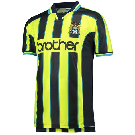 Man city goalkeeper football jersey 2019 2020 home of football. Buy Retro Replica Manchester City old fashioned football ...