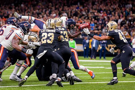 saints  bears matchups  orleans defense  chicago