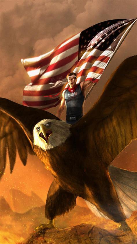 american flag  eagle wallpaper  images