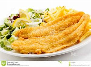 Fried Fish Fillet Stock Photo - Image: 53373155