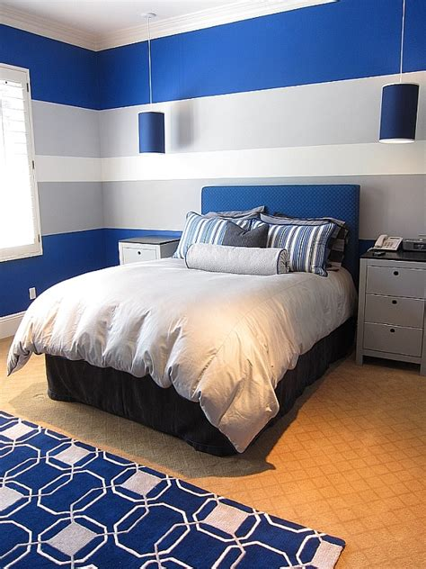 Male Teenage Room Idea Colours With Grey Design, Teen Boy