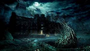 dark forest | Dark Forest Moon HD Widescreen Wallpaper ...
