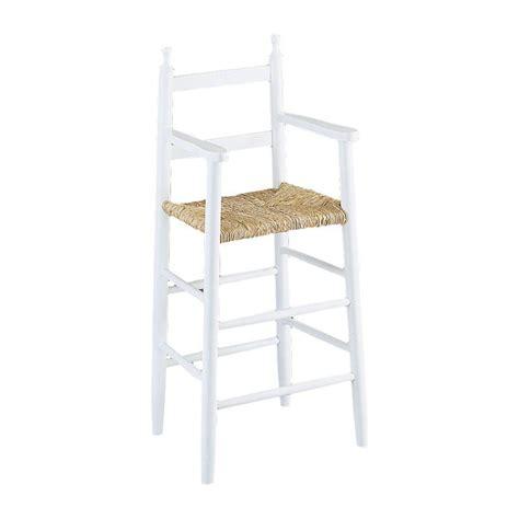 chaise pour table haute chaise haute enfant bois gaspard 4455