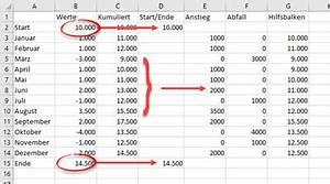 Summe Aufeinanderfolgender Zahlen Berechnen : pia bork excel ~ Themetempest.com Abrechnung