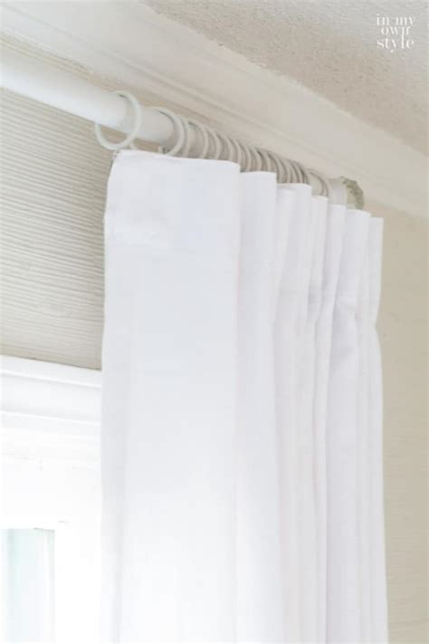 How To Use Drapery Rings by 4 Tricks To Use When Hanging Drapes And Curtains In My