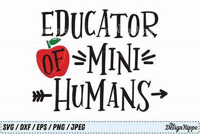 Svg Teacher Humans Educator Mini Bundle Cut