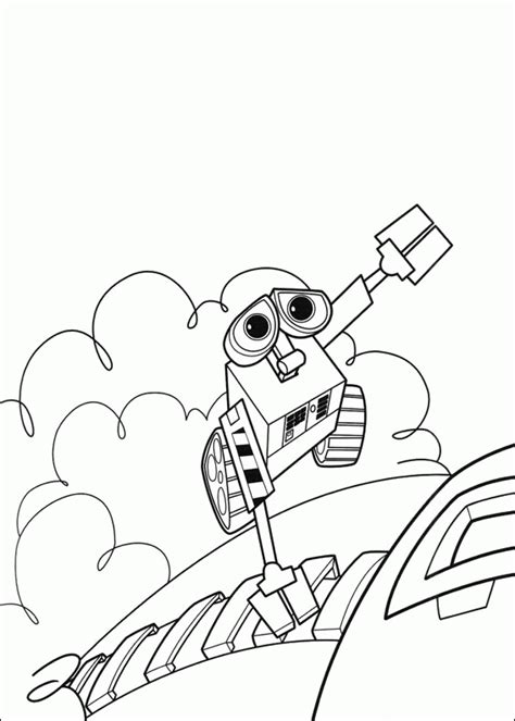 Coloring Wall by Wall E Coloring Pages For Print And Color The