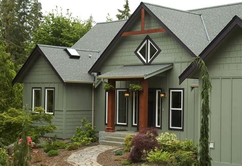 traditional craftsman homes green exterior paint exterior traditional with exterior