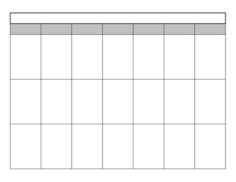 calendar template blank calendar chainimage