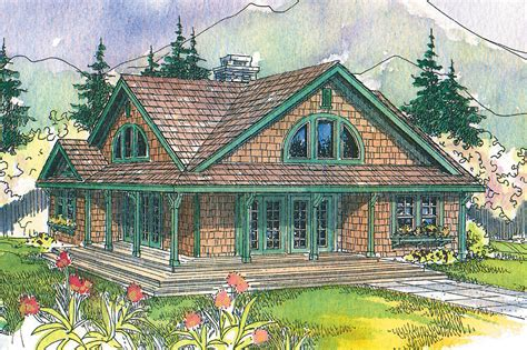 craftsman house plans cedar view    designs