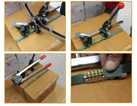 manual strapping machine setpppet strapping sealer  ratchet tie downpacking machine