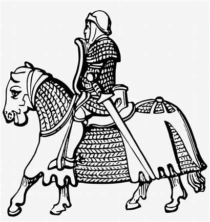 Chess Knight Coloring Getdrawings Pngkey Horseback