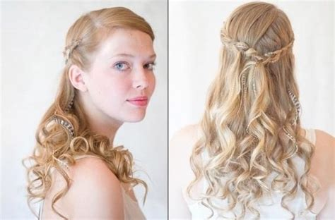 bridesmaids hairstyles  long hair tutorials popular