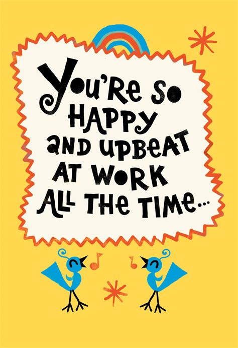 youre  upbeat funny admin professionals day card