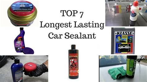 Top Seven Longest Lasting Car Sealant Products Youtube